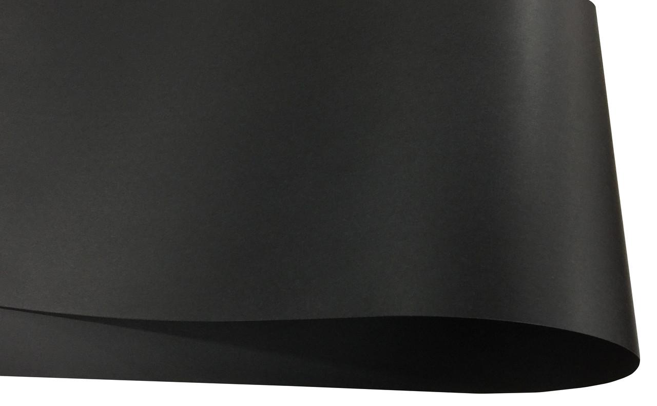 Дизайнерская бумага Hyacinth, гладкая, черная, 110 гр/м2