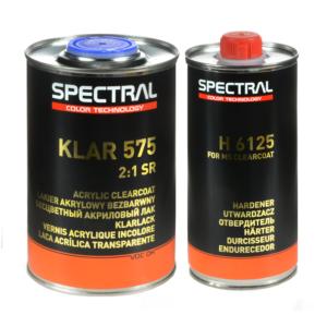 ЛАК АКРИЛОВЫЙ NOVOL SPECTRAL KLAR 575 SR, 2+1 (1Л.+ 0,5 МЛ.)