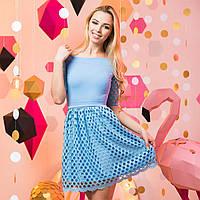 """Голубое нарядное, вечернее платье """"Жаклин"""", фото 1"""