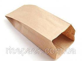 Пакет бумажный бурый 14х27 для упаковки и фасовки