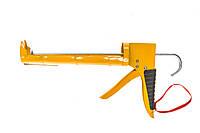 Пистолет для герметиков, полукорп., с трещеткой Housetools 21B023