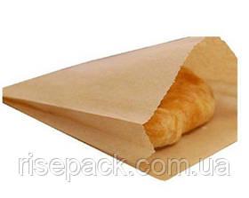 Пакет бумажный бурый 15х30