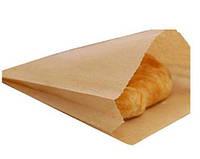 Пакет бумажный бурый 15х30 для упаковки и фасовки