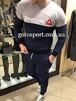 Демисезонный спортивный мужской костюм Reebok
