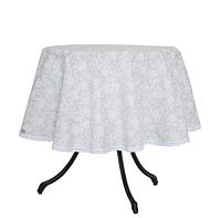 Скатерть на круглый стол White rose D-140 см