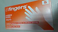 Перчатки  латексные,неопудренные Fingers(Германия) 100 шт.S