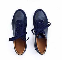 Мужские мокасины синего цвета K2