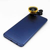 Линза для селфи Selfie Cam Lens Panorama, Золотистая