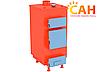 Котлы твердотопливные САН ЭКО-У 10 кВт (4 мм) с ручной регулировкой подачи воздуха, фото 2