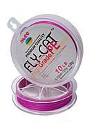 Шнур плетеный NTEC Fly-Cat Pink 137м, Ø0.08мм, 1.8кг