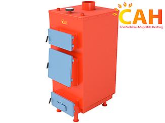 Котлы твердотопливные САН ЭКО-У 13 кВт (4 мм) с ручной регулировкой подачи воздуха