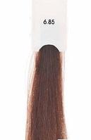Kaaral Baco Soft тон 6.85 коричнево-махагоновый темный блондин перманентный безаммиачный крем-краситель, 60 мл