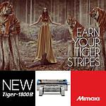 Промышленный текстильный принтер Mimaki Tiger 1800B устанавливает более высокую планку печати на тканях