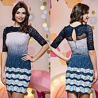 """Модное демисезонное платье короткое """"Вероник"""", фото 1"""