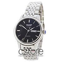 Часы Tissot Heritage Visodate silver black (06847)