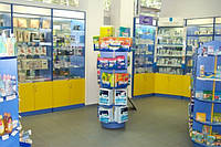 Мебель для аптеки под ключ
