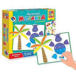Магнитная мозаика для малышей Бегемот Vladi Toys