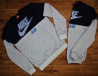Мужской модный реглан Nike ,рукава с манжетами.Материал трикотаж ,размеры 46-54