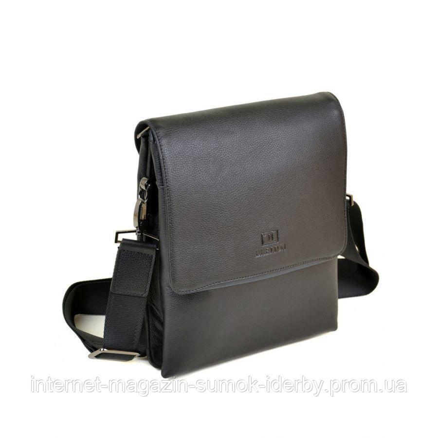 eb682e1df2de Сумка Мужская Планшет кожа BRETTON TW5308-3 black - Интернет-магазин сумок  iDERBY в