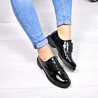 Туфли классика черные Genna 4204