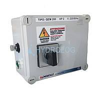 Пульт управления Pedrollo QEM 200  для скважинных насосов