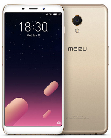 Meizu M6S 3/32Gb Gold Гарантия 1 год