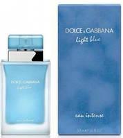 Женская туалетная вода Dolce&Gabbana Light Blue eau Intense (женские духи дольче габбана лайт блю интенс)