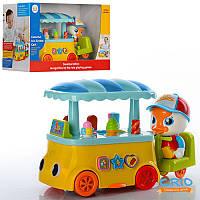 МАШИНКА 6101 кафе на колесах, машинка для детей, игрушка музыкальная, игрушка