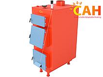 Котлы твердотопливные САН ЭКО-У-М 25 кВт (4 мм) с энергонезависимой автоматикой
