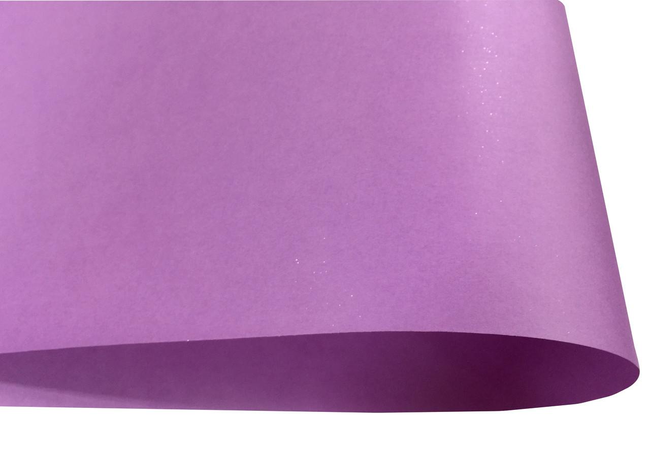 Дизайнерская бумага Hyacinth Star Rain, гладкая, фиолетовая, 120 гр/м2