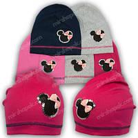 Трикотажные шапки для детей, р. 48-50