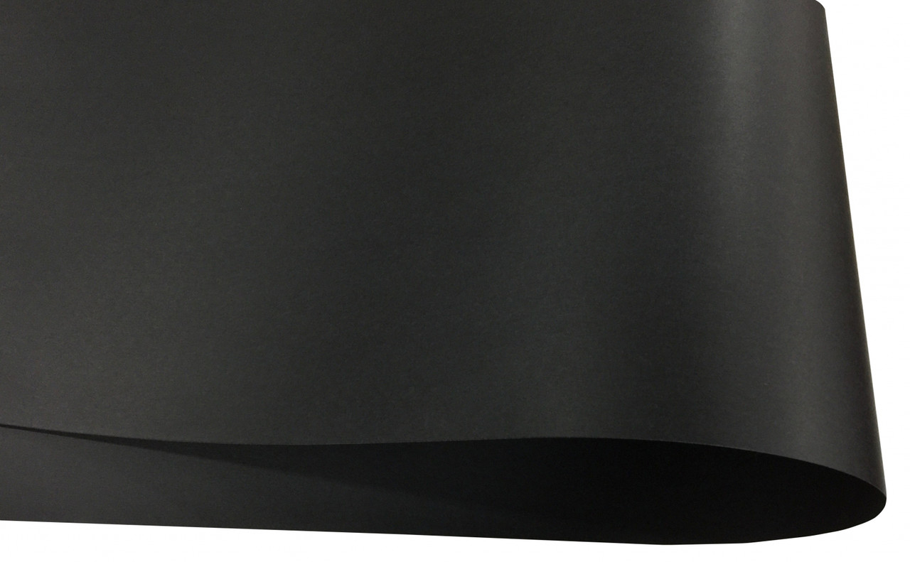 Дизайнерский картон Hyacinth чорний, 300 гр/м2