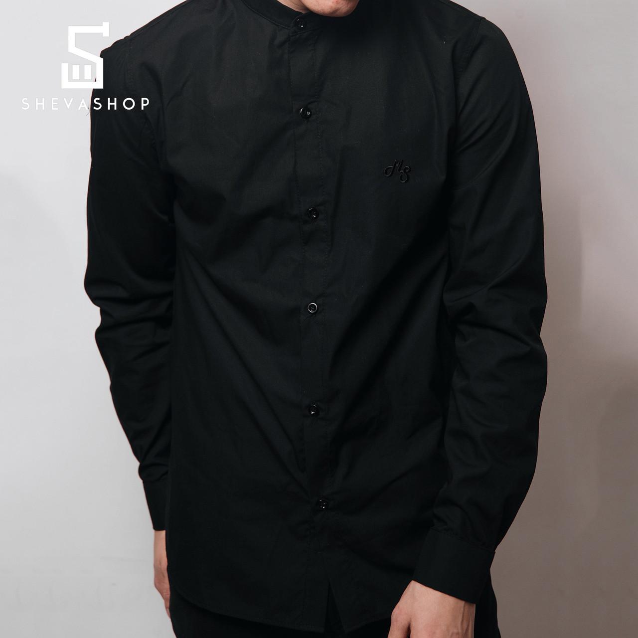 b1bbacb24e7 Рубашка MS BLACKKK черная - купить по лучшей цене в Харькове от ...