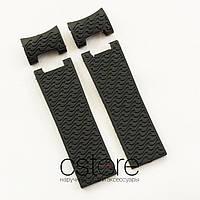 Для часов ремешок Ulysse Nardin maxi marine diver black (07030)