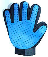 Перчатка для снятия шерсти с животных True Touch