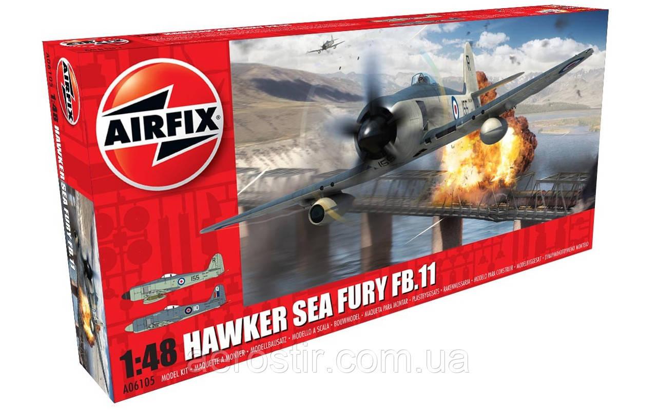 Hawker Sea Fury FB II 1/48 AIRFIX 06105