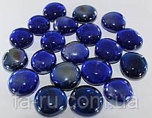 Камень декоративный, искусственный. Синий