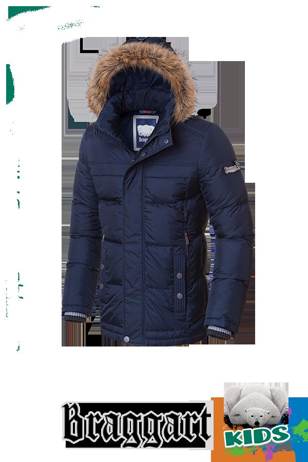 Модная зимняя куртка на мальчика Braggart Kids (р. 34-40) арт. 6445