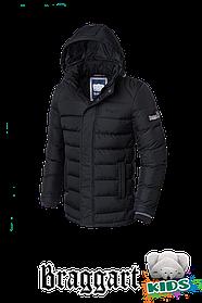 Зимняя куртка на мальчика 7-12 лет Braggart Kids (р. 34-40) арт. 6528