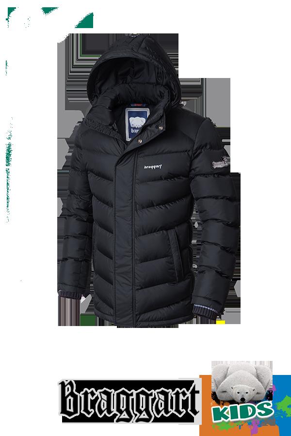 Теплая детская зимняя куртка Braggart Kids (р. 34-40) арт. 6482