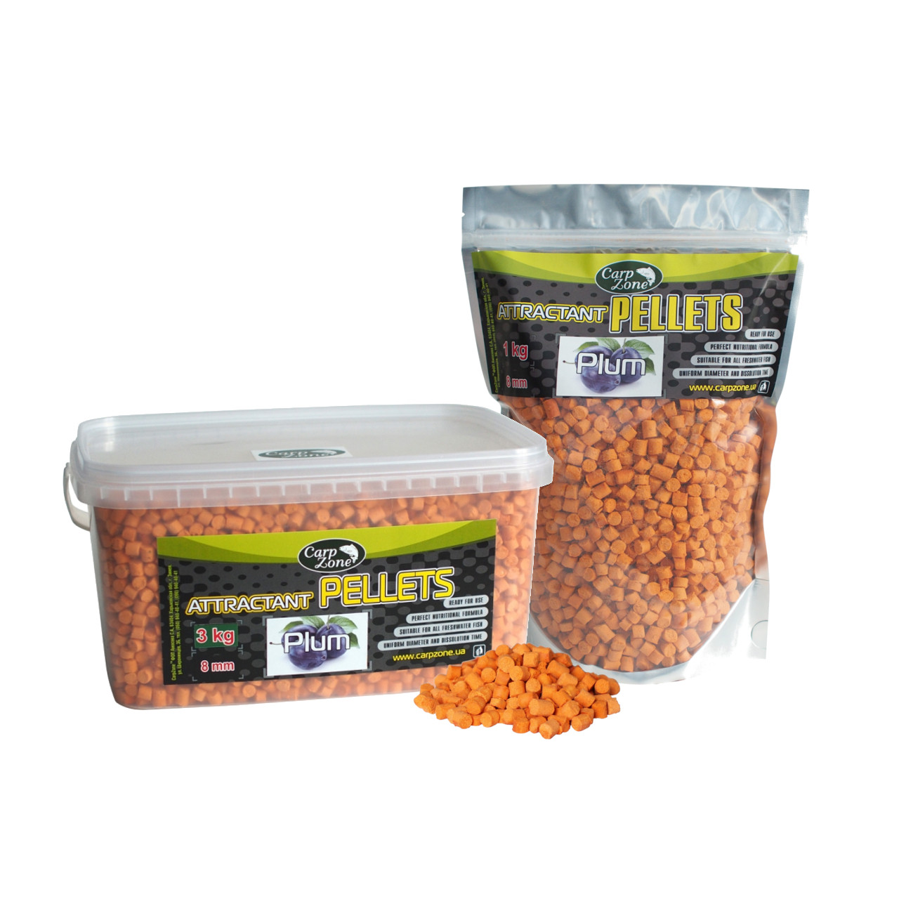 Пеллетс Аттрактант Attractant Pellets Plum (Слива)