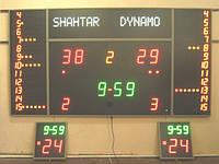 Электронное светодиодное спортивное табло для игровых видов спорта