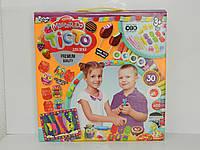 Тісто-пластилін набір з 30 кольорів з аксессуарами