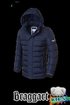 Зимняя куртка на мальчика школьника Braggart Kids (р. 34-40) арт. 6528, фото 2
