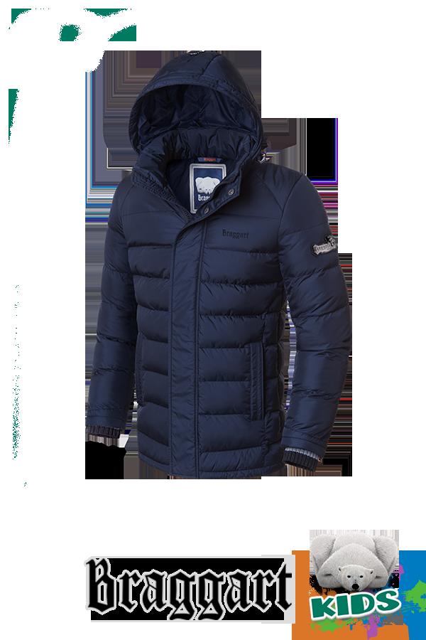 Зимняя куртка на мальчика школьника Braggart Kids (р. 34-40) арт. 6528