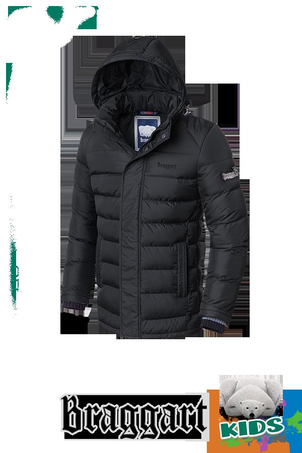 Зимняя куртка на мальчика с капюшоном Braggart Kids (р. 34-40) арт. 6528