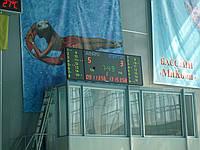 Спортивное электронное табло и часы для бассейнов