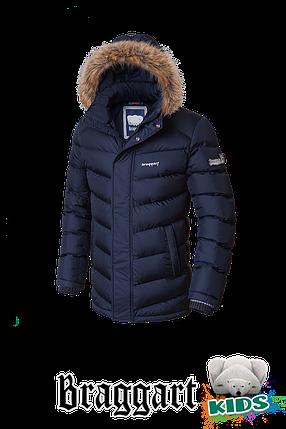 Теплая зимняя куртка на мальчика Braggart Kids (р. 34-40) арт. 6682, фото 2