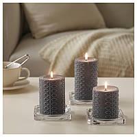 Набор ароматизированных свечей NJUTNING серые