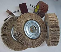 Пелюстковий круг наждачний Р100 150*30*32 шліфувальний диск КШЛ